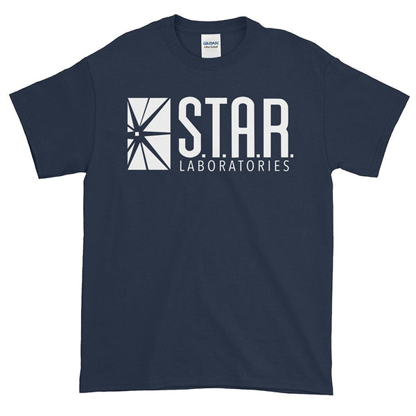 FLASH Star Laboratories S.T.A.R. Labs Adult T- Shirt - Kryptonite Character Store