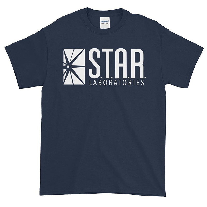 FLASH Star Laboratories S.T.A.R. Labs Adult T- Shirt