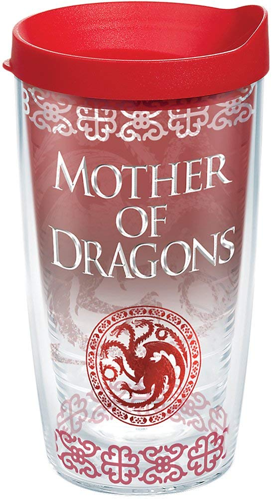 "Game of Thrones ""Mother of Dragons"" 16 oz. Tervis Tumbler- Kryptonite Character Store"