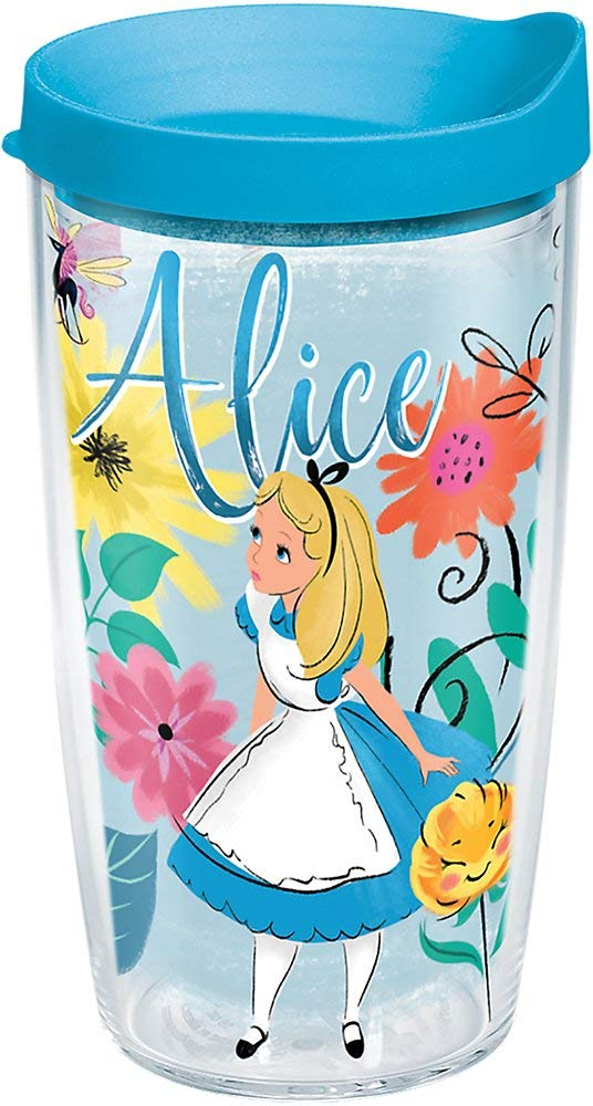 "Alice in Wonderland ""Wandering in Wonderland"" 16 oz. Tumbler"