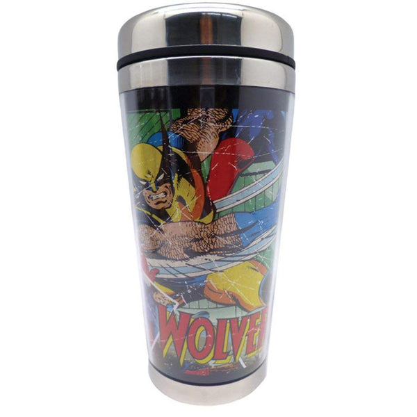 Westland Giftware 16-Ounce Wolverine Acrylic and Stainless Steel Travel Mug