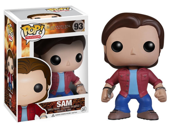 Funko POP Television: Supernatural Sam Action Figure - Kryptonite Character Store