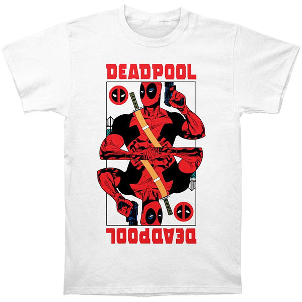 Deadpool Wild Card Men's T-Shirt - Kryptonite Character Store