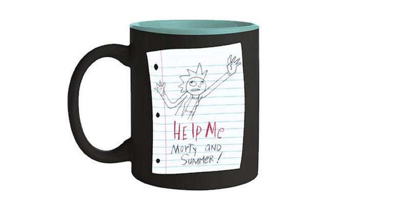 "Rick & Morty ""I'm the Rick"" Ceramic Coffee Mug - Kryptonite Character Store"