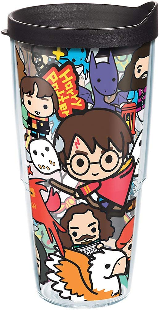 "Harry Potter ""Group Charms"" 24 oz. Tervis Tumbler"