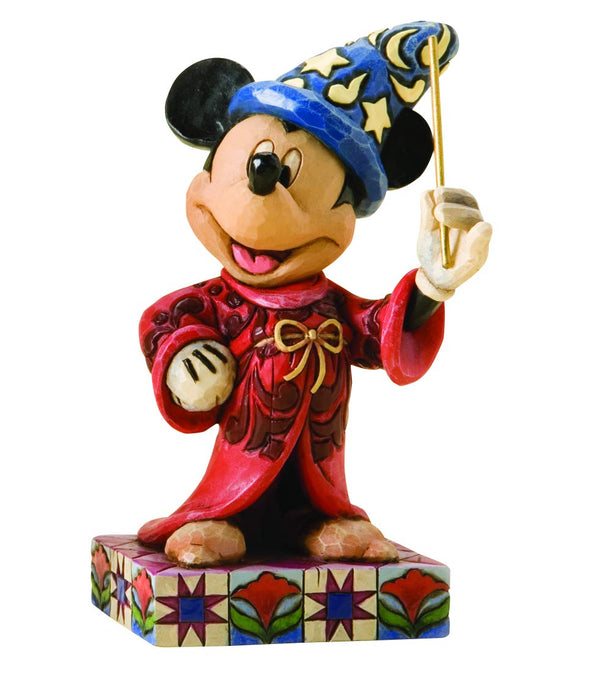 Disney Traditions - Sorcerer Mickey Personality Pose Figurine