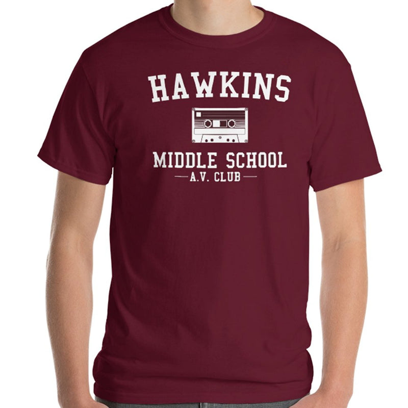 Stranger Things Hawkins Middle School AV Club T-Shirt