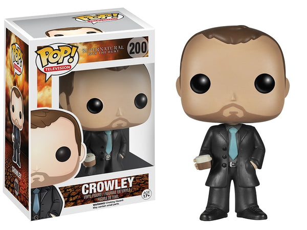 Funko POP TV: Supernatural - Crowley - Kryptonite Character Store