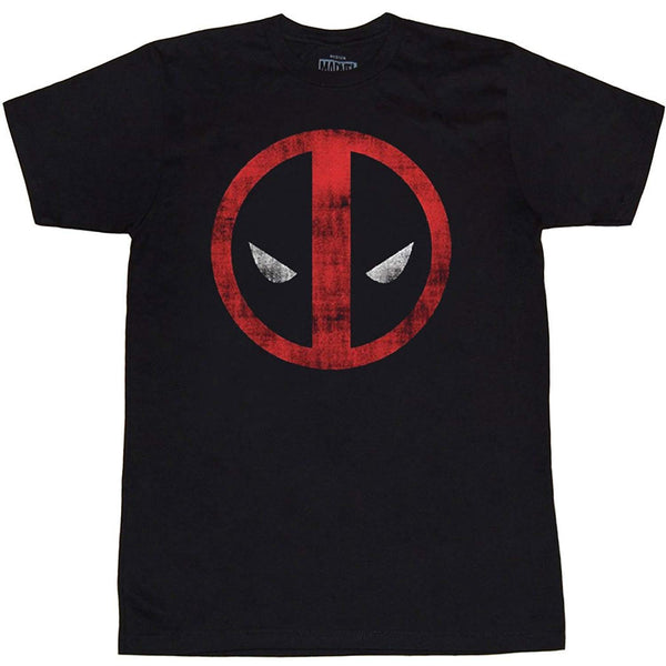 Marvel Deadpool Distressed Logo T-shirt