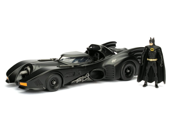 Jada Toys Boys Metals 1:24 1989 Batmobile with Figure (2 Pieces)