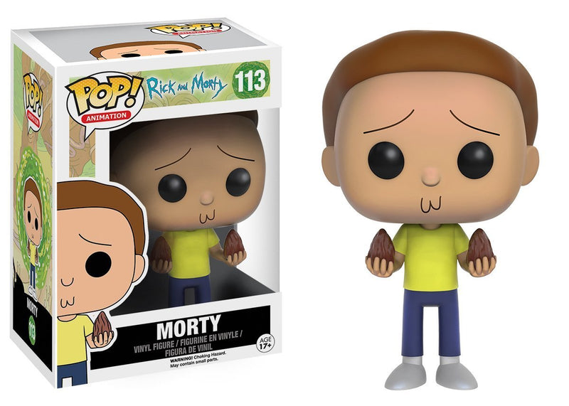 Funko POP Animation: Rick & Morty - Morty Action Figure - Kryptonite Character Store