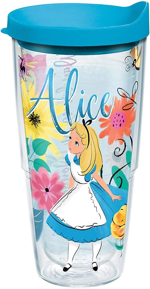 "Alice in Wonderland ""Wandering in Wonderland"" 24 oz. Tumbler"
