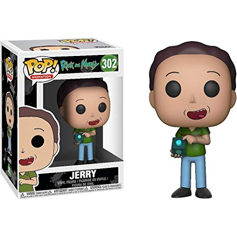 Funko Pop Animation: Rick and Morty - Jerry Collectible Figure