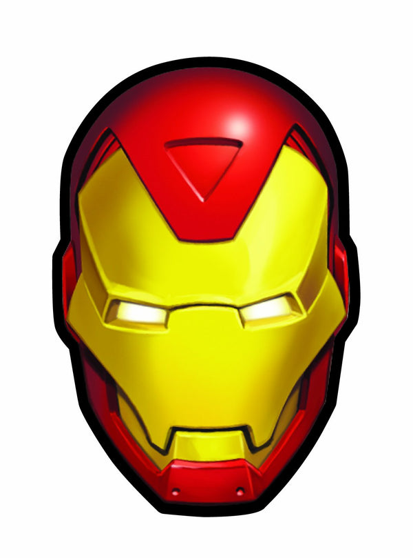 Marvel Iron Man Holographic Face Magnet - Kryptonite Character Store