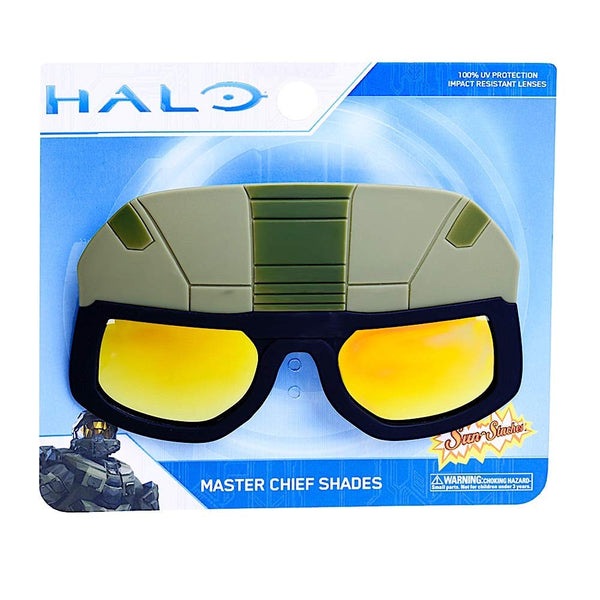 Halo - Master Chief Costume Sunglasses - Kryptonite Character Store
