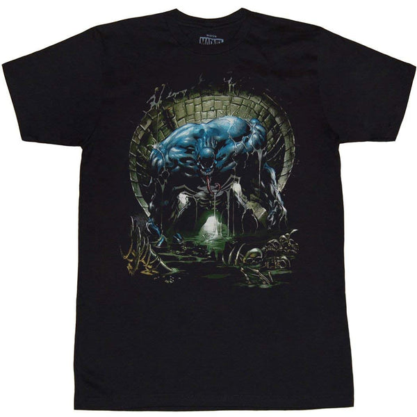 Marvel Venom Sewer Adult T-shirt