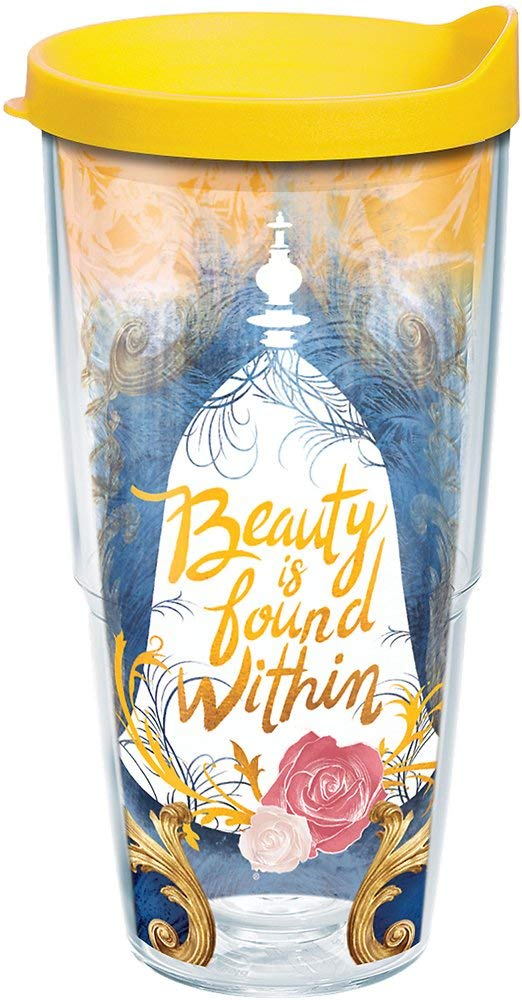 "Beauty and the Beast ""Beauty is Found Within"" 24 oz. Tervis Tumbler"