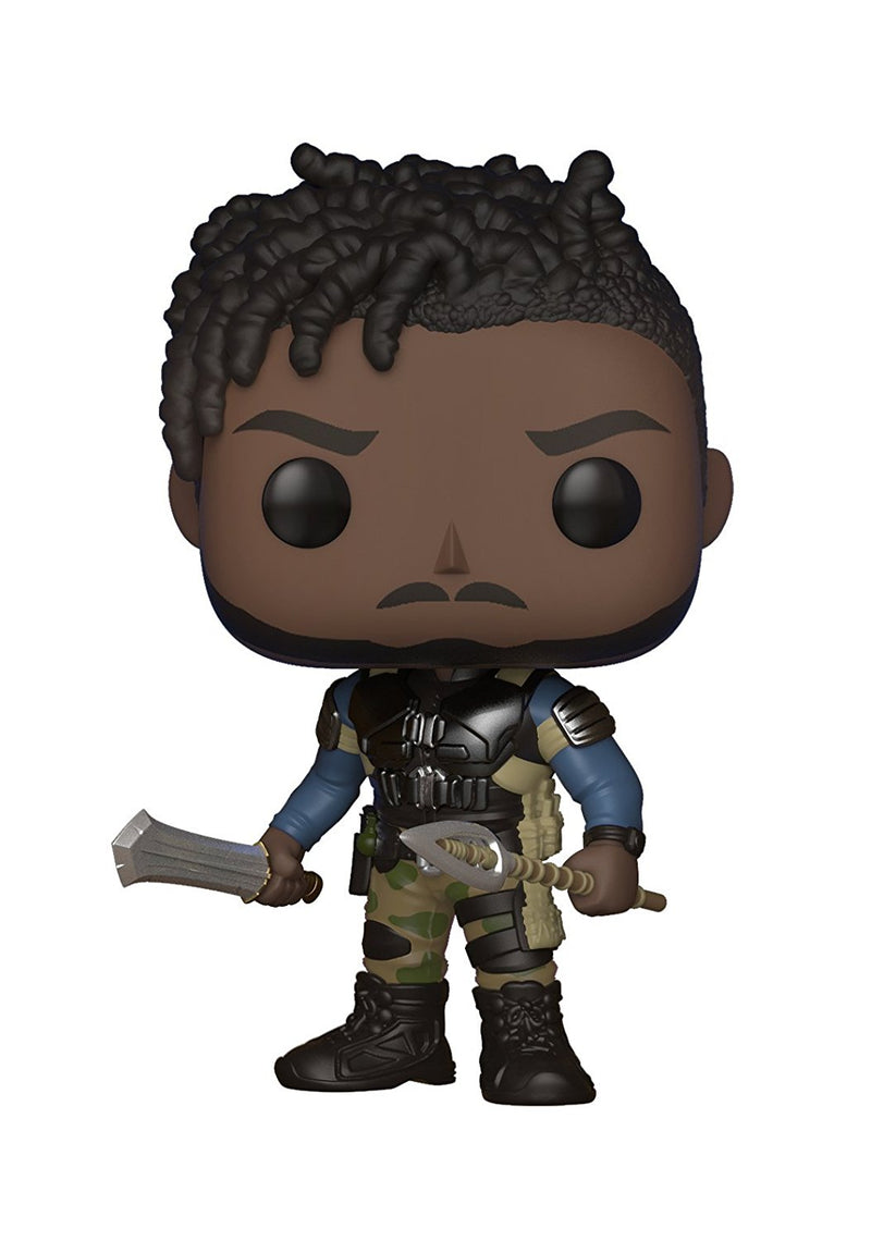 Funko POP! Marvel: Black Panther Movie-Erik Killmonger (Styles May Vary) Collectible Figure - Kryptonite Character Store