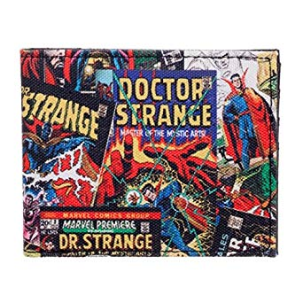 Doctor Dr. Strange Comics Bi-Fold Wallet - Kryptonite Character Store