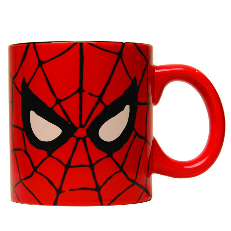 Silver Buffalo Marvel Comics Spider-Man Eyes Jumbo Coffee Mug, 20-Ounces