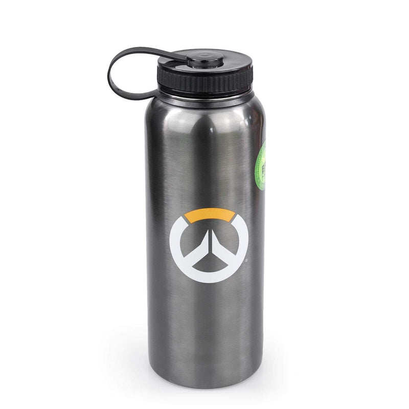 Overwatch Stainless Steel Water Bottle with Lid - Kryptonite Character Store