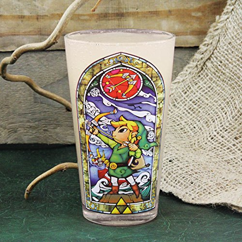 The Legend of Zelda Link Glass - Kryptonite Character Store