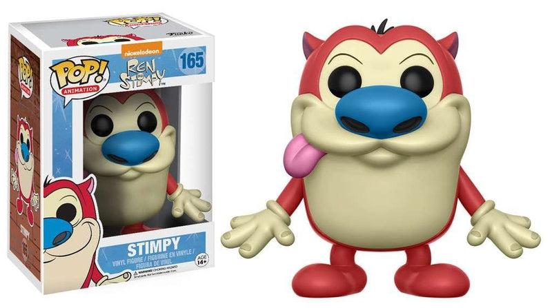 Funko POP Animation Nickelodeon Ren and Stimpy Toy Action Figures - Kryptonite Character Store