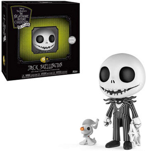 Funko 5 Star: Nightmare Before Christmas - Jack Skellington with Zero Collectible Figure