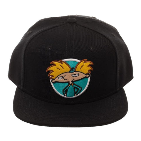 e7d0a31246893 Hey Arnold Nickelodeon Snapback Hat - Kryptonite Character Store