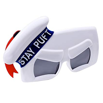 Ghostbusters Stay Puft - Costume Sunglasses - Kryptonite Character Store