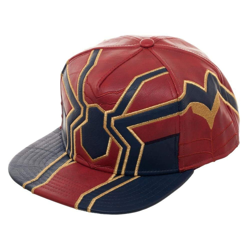 Avengers Infinity War Iron Spider Suit up PU Snapback Hat - Kryptonite Character Store