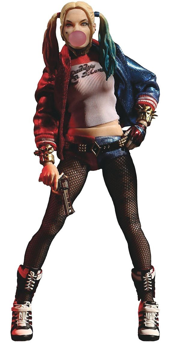 Mezco - Harley Quinn Suicide Squad One-12 Action Figure - Kryptonite Character Store