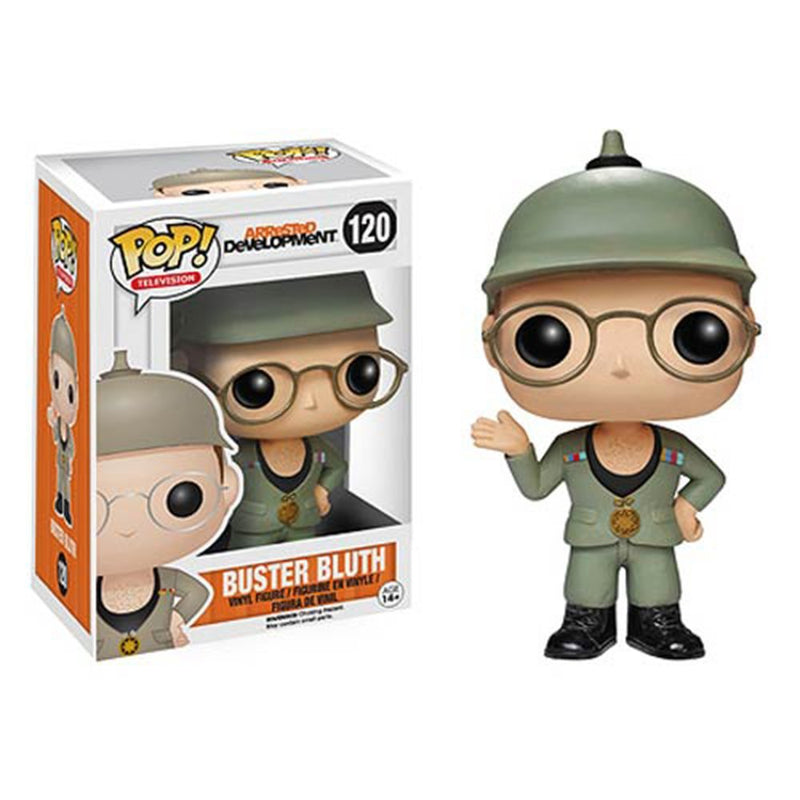 Funko POP Television: Arrested Development Buster Bluth Good Grief Vinyl Bobble Head - Kryptonite Character Store