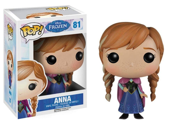 Frozen - Anna Disney POP Figure Toy 3 x 4in - Kryptonite Character Store