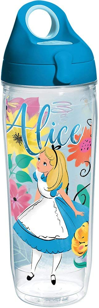 "Alice in Wonderland ""Wandering in Wonderland"" 24 oz. Water Bottle"