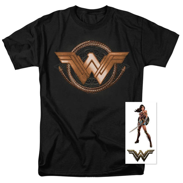 Wonder Woman Lasso of Truth Logo Women's Officially Licensed T Shirt