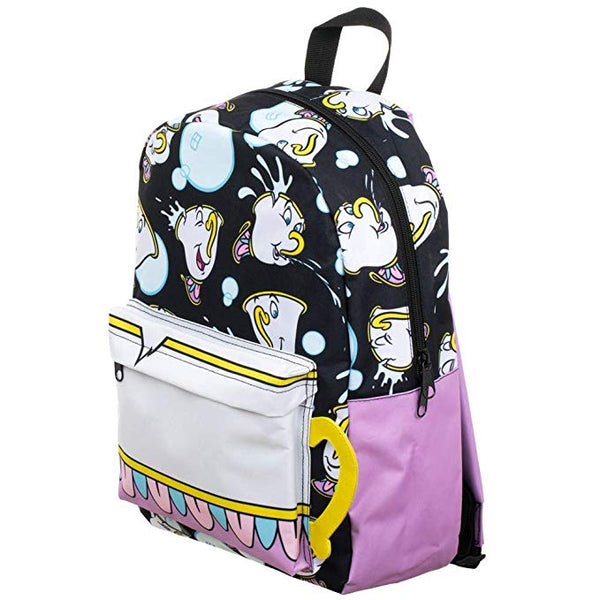 Chip Tea Cup Beauty and the Beast Backpack- Kryptonite Character Store
