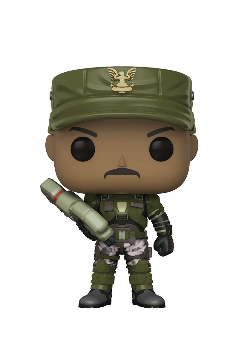 Funko Pop Games: Halo-Sergeant Johnson (Styles May Vary) Collectible Figure, Multicolor - Kryptonite Character Store