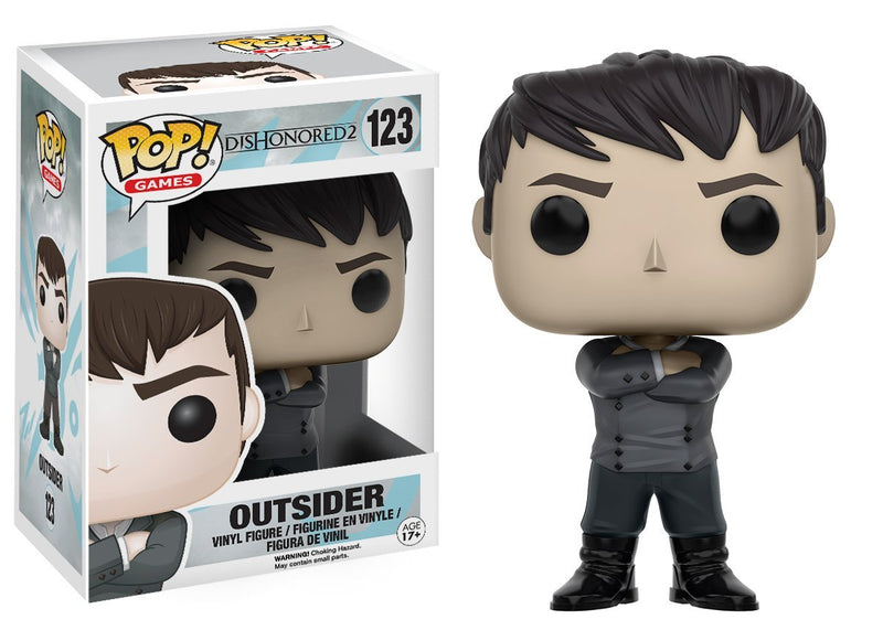 Funko Dishonored 2 Outsider Pop Games Figure - Kryptonite Character Store