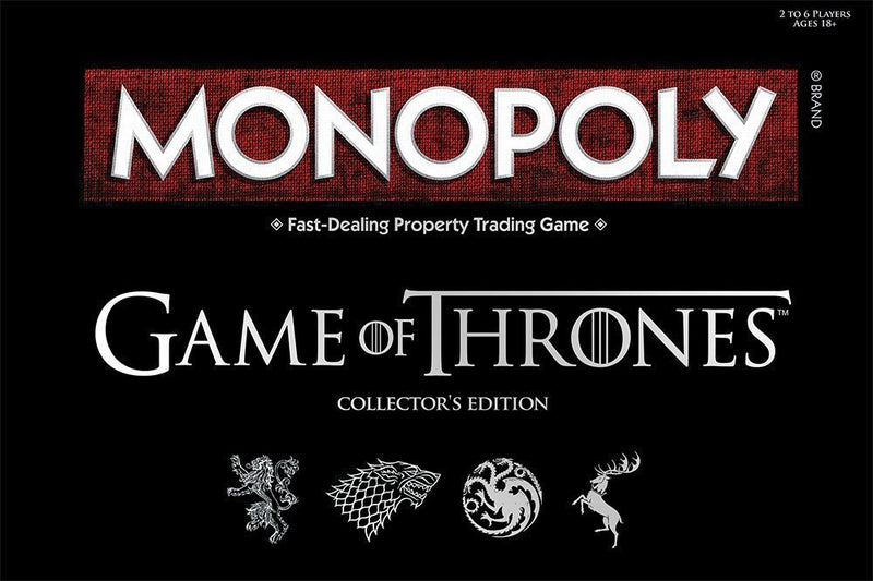 Game of Thrones Edition MONOPOLY