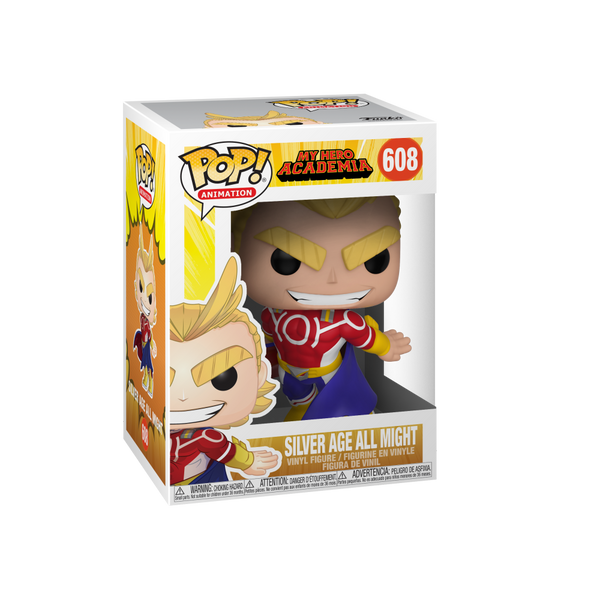 Funko POP! Animation: My Hero Academia S3 - All Might (Silver Age)