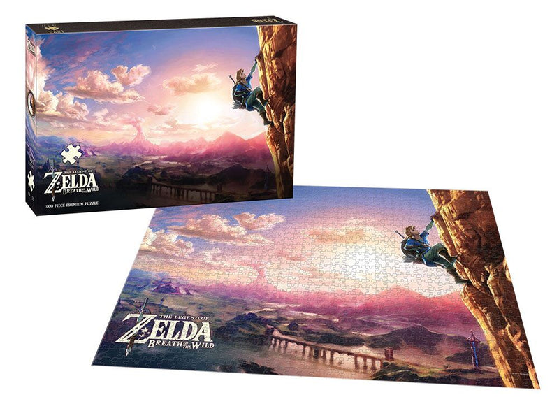 "The Legend of Zelda ""Scaling Hyrule"" 1000 pc. Puzzle - Kryptonite Character Store"