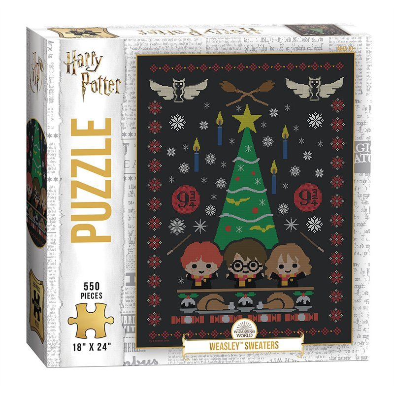 "Harry Potter ""Weasley Sweaters"" Puzzle 550 Pieces"