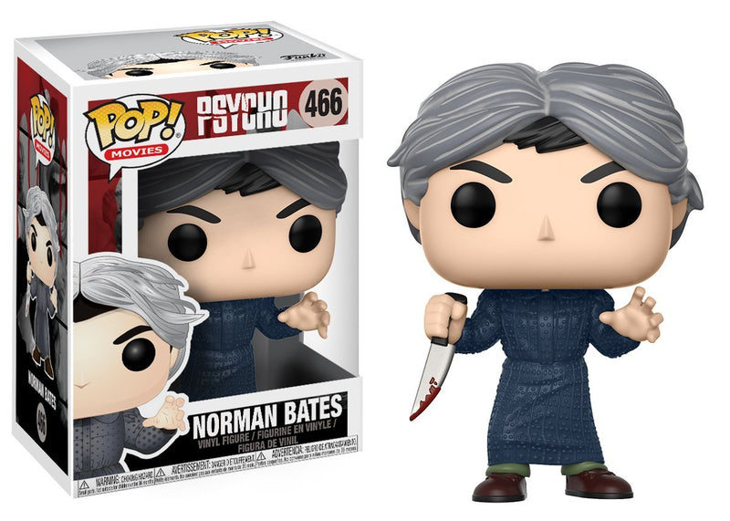 Funko Pop Movies: Psycho-Norman Bates Collectible Figure - Kryptonite Character Store