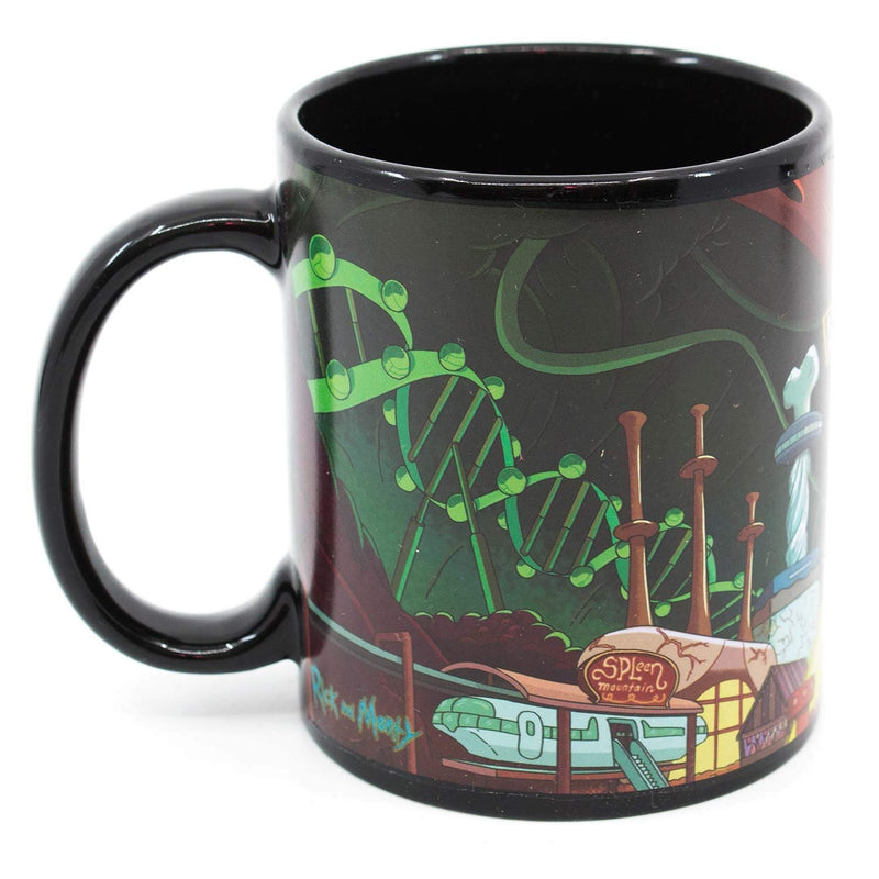 Rick And Morty Anatomy Park 11oz Coffee Mug
