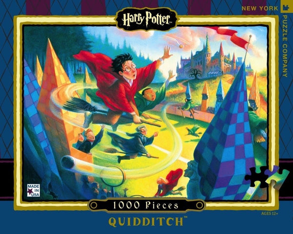 Harry Potter Quidditch - 1000 Piece Jigsaw Puzzle