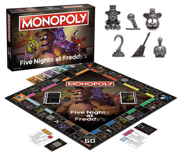 Monopoly Five Nights at Freddy's Edition - Kryptonite Character Store