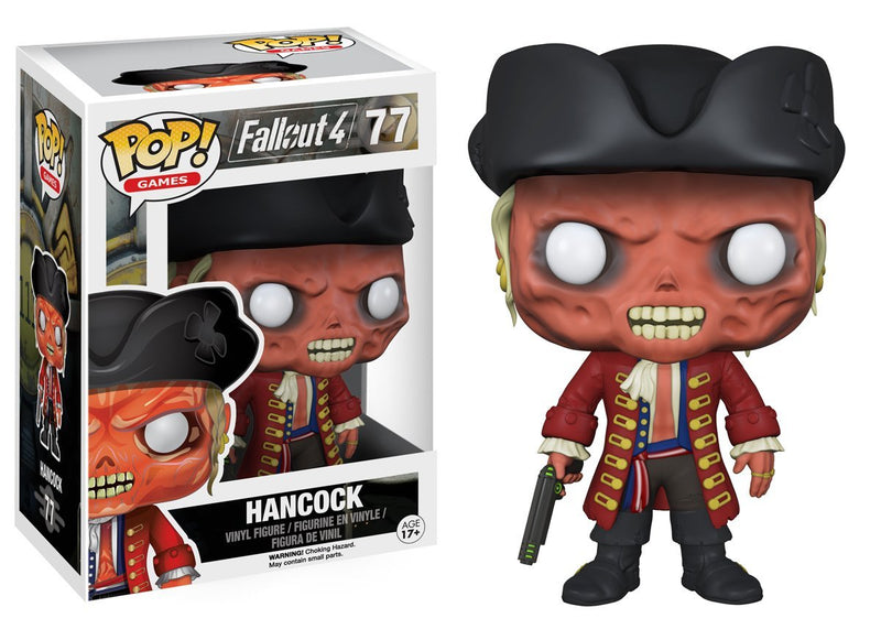 Funko Pop Games: Fallout 4-John Hancock Action Figure - Kryptonite Character Store
