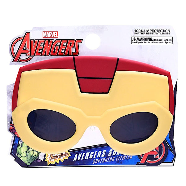 Ironman Party Costume Sunglasses - Kryptonite Character Store