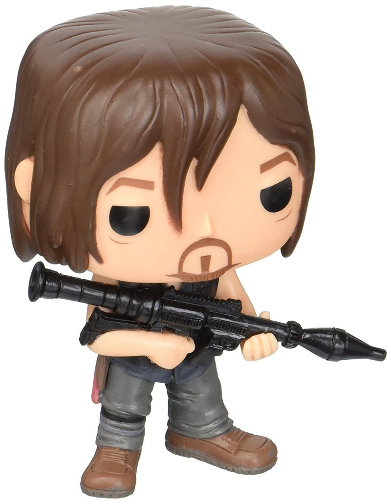 Funko POP Television: The Walking Dead - Daryl (Rocket Launcher) Action Figure - Kryptonite Character Store